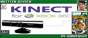 KINECT HARDWARE REVIEW by GAMZERGUY