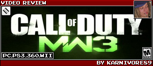 MODERN WARFARE 3 REVIEW by KARNIVORE89
