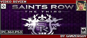 SAINTS ROW: THE THIRD REVIEW by GAMZERGUY