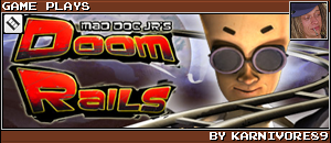 DOOM RAILS by KARNIVORE89