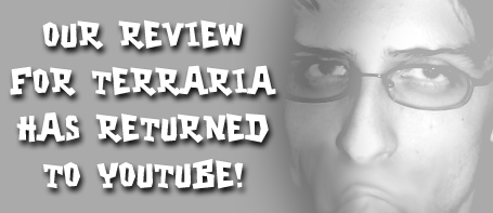 TERRARIA REVIEW IS BACK! BY ROCKCOCK64