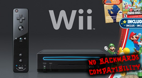 NEW WII CAN'T PLAY GAMECUBE BY KARNIVORE89