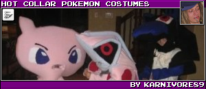HOT COLLAR POKEMON COSTUMES BY KARNIVORE89