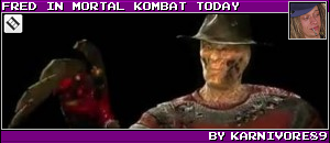 FRED IN MORTAL KOMBAT TODAY BY KARNIVORE89
