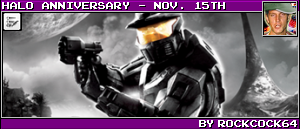 HALO ANNIVERSARY - NOV. 15TH BY ROCKCOCK64