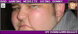 BAD GAMING WEBSITE GOING DOWN! BY DARKGAMER6669
