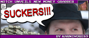NOTCH UNVEILS NEW MONEY GRABBER BY KARNIVORE89